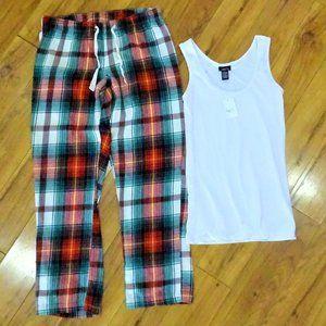 Old Navy Rue 21 sleep pajama set tank pants